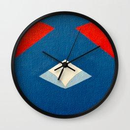Lucha Libre Mask 3 Wall Clock