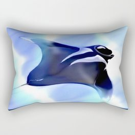 Manta Rays Rectangular Pillow