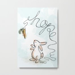 silly rabbit Metal Print