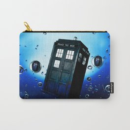 Tardis And Bubble Carry-All Pouch