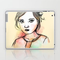 Ink Girl III Laptop & iPad Skin