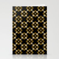 floral pattern Stationery Cards featuring Floral Pattern by Christina Rollo