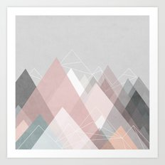 Graphic 105 Art Print