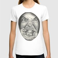 fear T-shirts featuring Fear by Magdalena Almero
