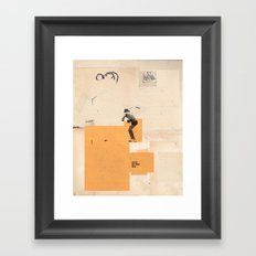 sooner or later 9 Framed Art Print