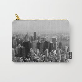 New York City Black and White Carry-All Pouch