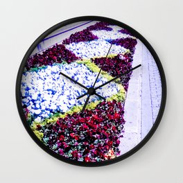 The diversity of color. Wall Clock