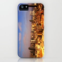 Colorful Downtown San Diego iPhone Case