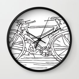 I want YOU to ride my bicycle Wall Clock