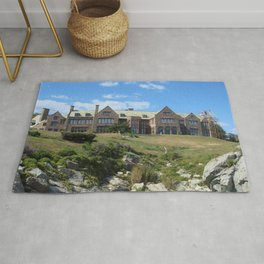 Newport, Rhode Island Mansions - Doris Duke's Rough Point - by Jeanpaul Ferro Rug