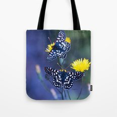 The Checkerspot Couple Tote Bag