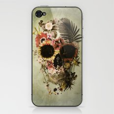 Garden Skull Light iPhone & iPod Skin