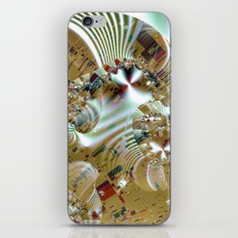 Relaxing from the chaos of strict structures iPhone Skin