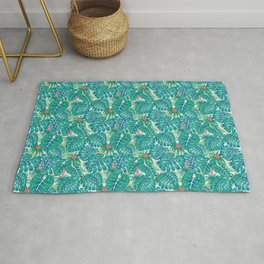 Tropic Pattern Rug