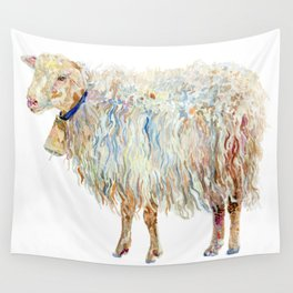 Wooly Sheep Wall Tapestry