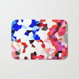 American Heart - Geometric Abstract Bath Mat