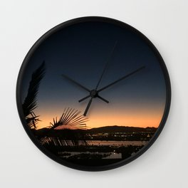 Dawn Patrol Wall Clock
