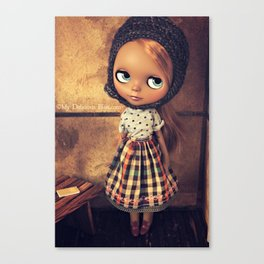 My Delicious Bliss Custom Doll Angelique Canvas Print
