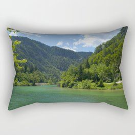 Calm River Bath Mat Rectangular Pillow