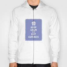 Keep Calm and Eat Cupcakes - frilly Hoody