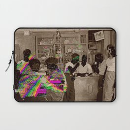 the Tempo of Bottoms up Laptop Sleeve