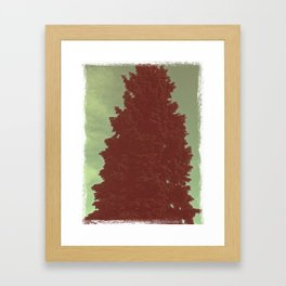 Vintage Pine Framed Art Print