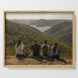 Looking toward Berowra Creek from Muogamarra Nature Reserve, Sydney Serving Tray