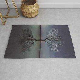 Mirrored Reality Rug