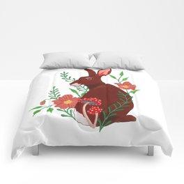 Floral Rabbit Comforters