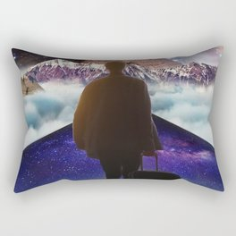 A Trip To Another Dimension Rectangular Pillow