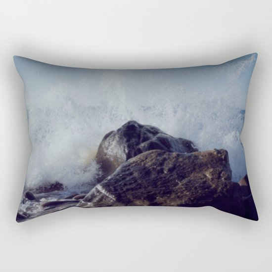Make mine with a splash of water on the rocks Rectangular Pillow
