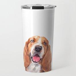 Basset Hound Gift Travel Mug