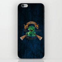 quidditch iPhone & iPod Skins featuring Slytherine quidditch team captain by JanaProject