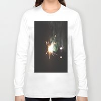 sparkle Long Sleeve T-shirts featuring Sparkle by Alyson Cornman Photography