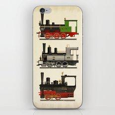 Groovy locomotives iPhone & iPod Skin