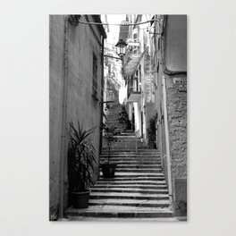 Step Right Up Canvas Print