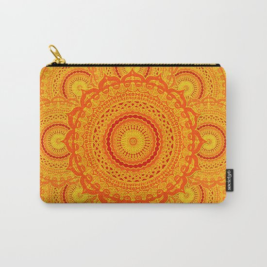 omulyána dancing gallery mandala Carry-All Pouch