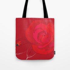 Rosa Ingrid Bergman Tote Bag