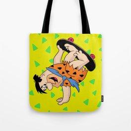 Shred Flintstone Tote Bag
