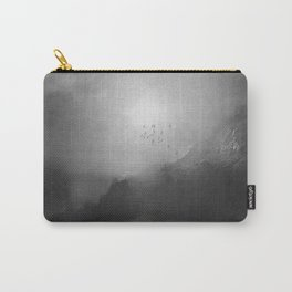 Black and White - Poesia Carry-All Pouch