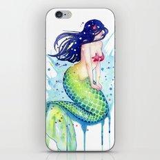 Mermaid Splash iPhone & iPod Skin