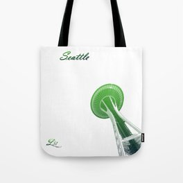 Cities Of America: Seattle Tote Bag
