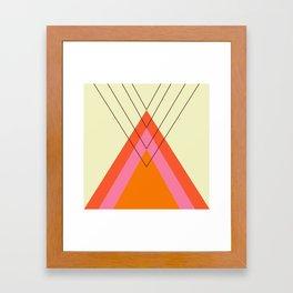 Iglu Sixties Framed Art Print