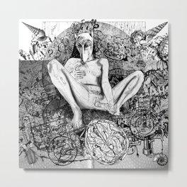 The constellation erotique 2515 Metal Print