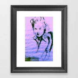 Cruel Girl Framed Art Print