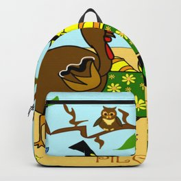 """""""Willy Worm's Pilgrim Party"""" Backpack"""