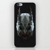 bat man iPhone & iPod Skins featuring Bat man by Fabio Piazzi