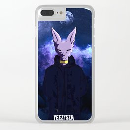 YZY SZN Clear iPhone Case