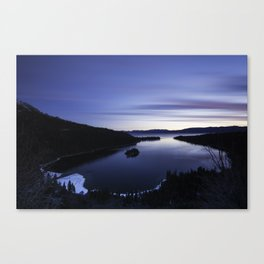 Seclusion Bay Canvas Print