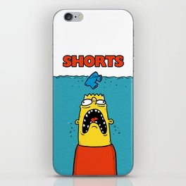 Eat My Shorts iPhone Skin